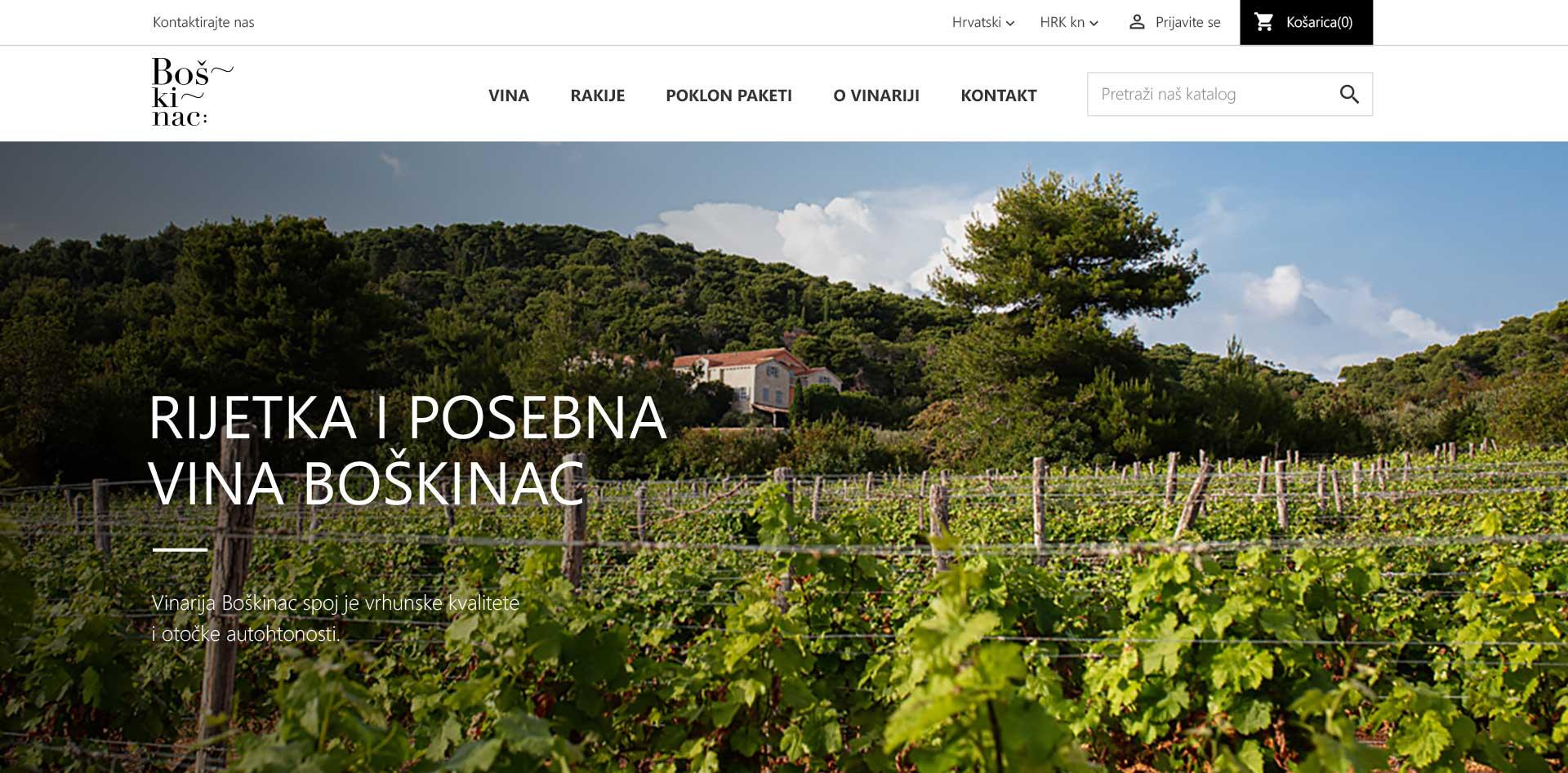 Vinarija Boškinac